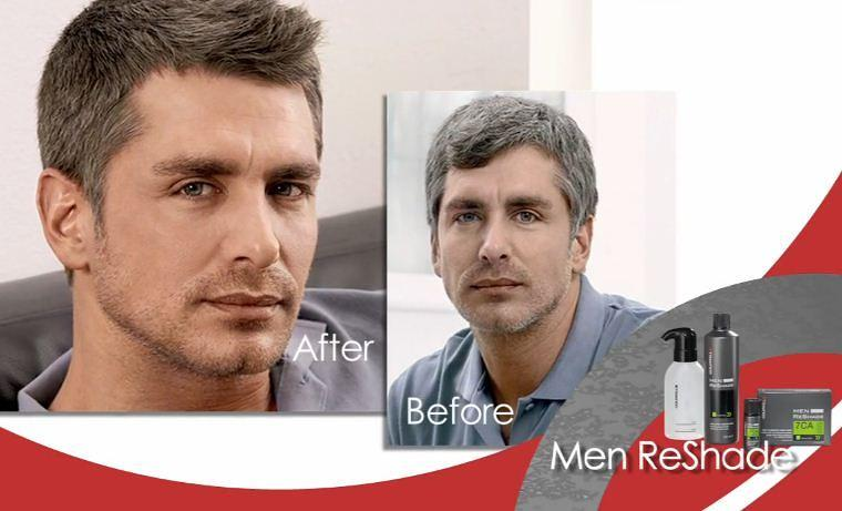 Mens Reshade reduce grey in 5 minutes