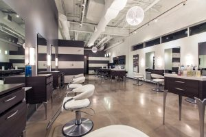 Inside Element Hair Salon in Waterloo