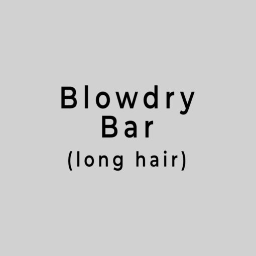 blowdry bar long hair