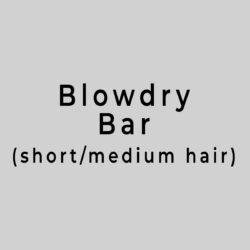 Blowdry bar short hair