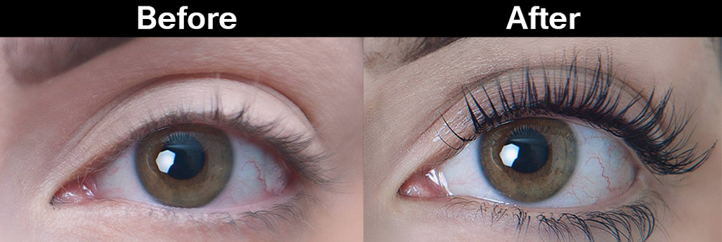 Best eyelash extensions Waterloo salon Element Hair