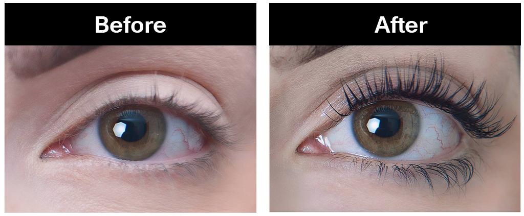 Best eyelash extensions at Element Hair in Waterloo