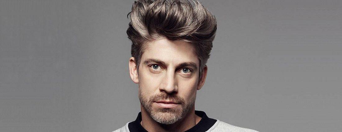 Men's hair colour. Goldwell Reshade at Element Hair
