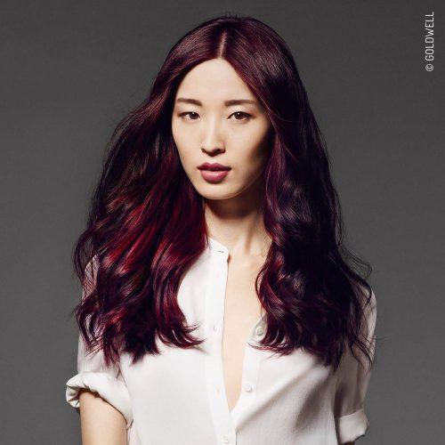 Rodica Hristu's The Deep Violet women's hair colour