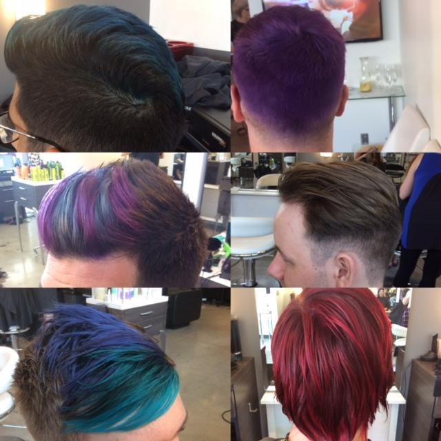 hair cuts and mens colouring at Element Hair.