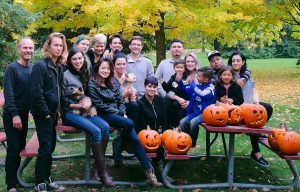 Element Hair family Fall 2016 picnic