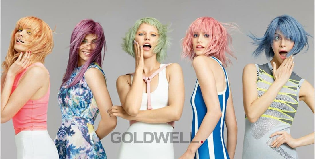 Goldwell Pastels hair colouring for women