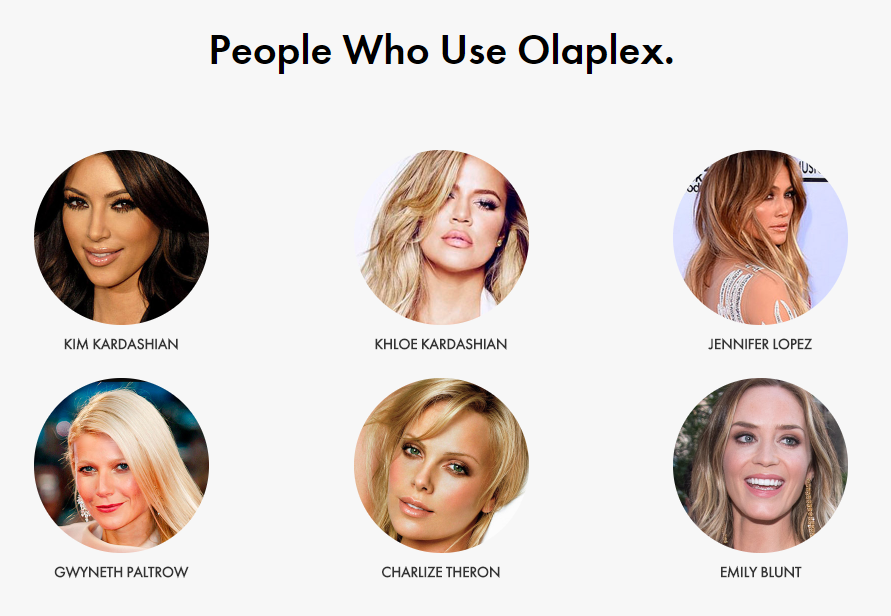 Olaplex hair treatment used by people