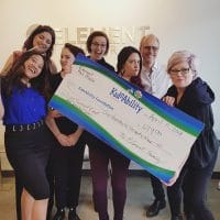 charitable efforts in support of Kidsability