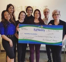Element Hair raises $679 for Kidsability