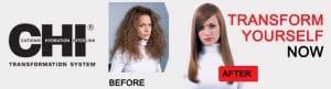 CHI Hair Straightening