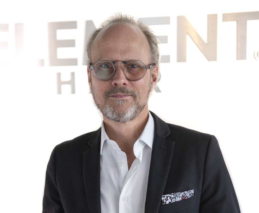 Lance Nielsen, Director, Master Stylist and co-owner Element Hair