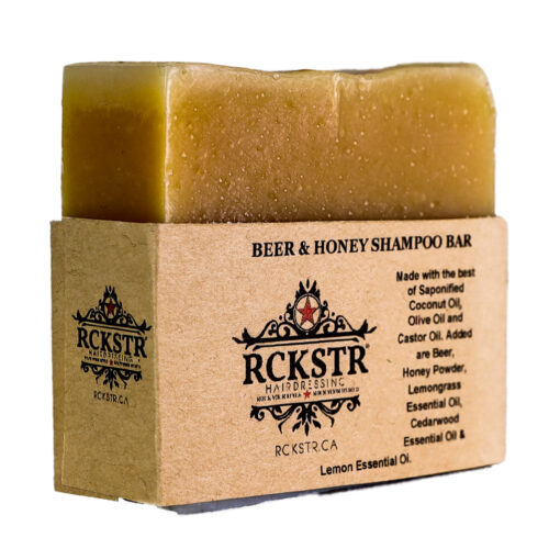 beer honey shampoo bar