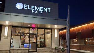 element hair salon waterloo