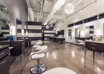 Inside Element Hair Salon in Waterloo